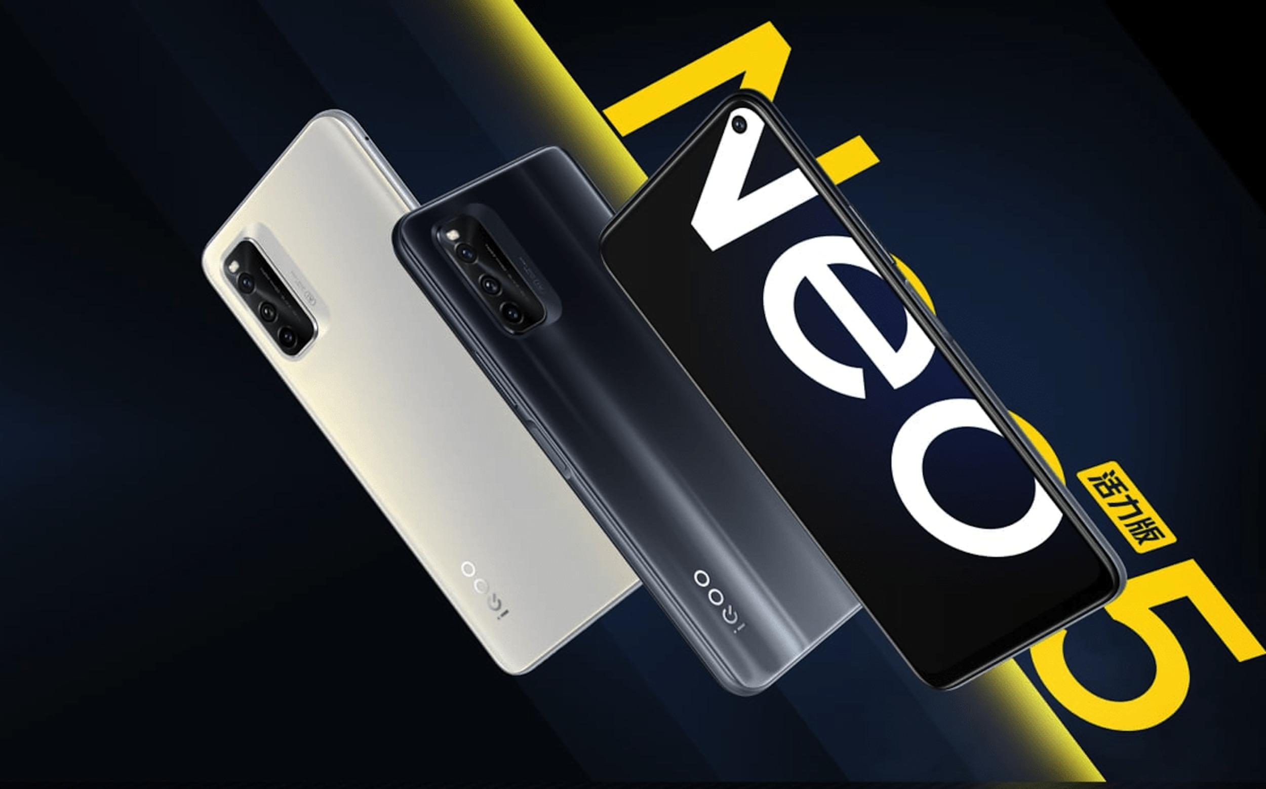iQOO oficiálně uvedlo Neo5 Vitality Edition