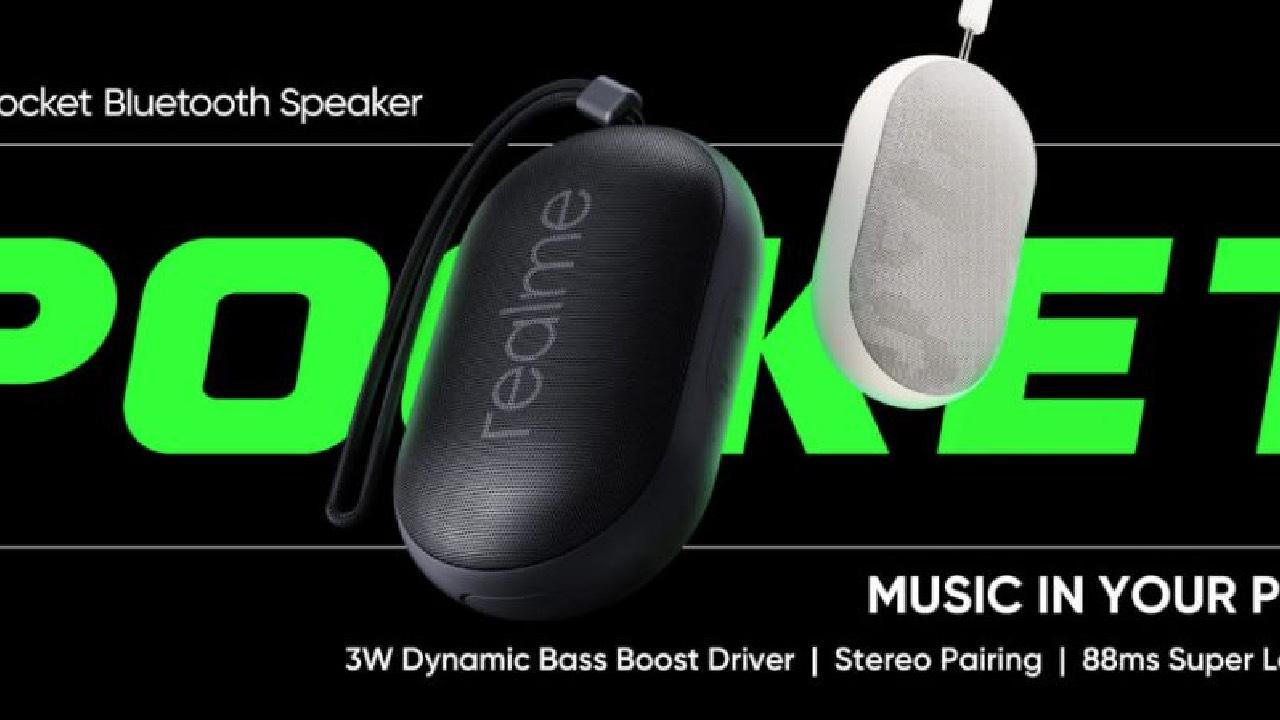 Realme představilo levná sluchátka a kapesní reproduktor