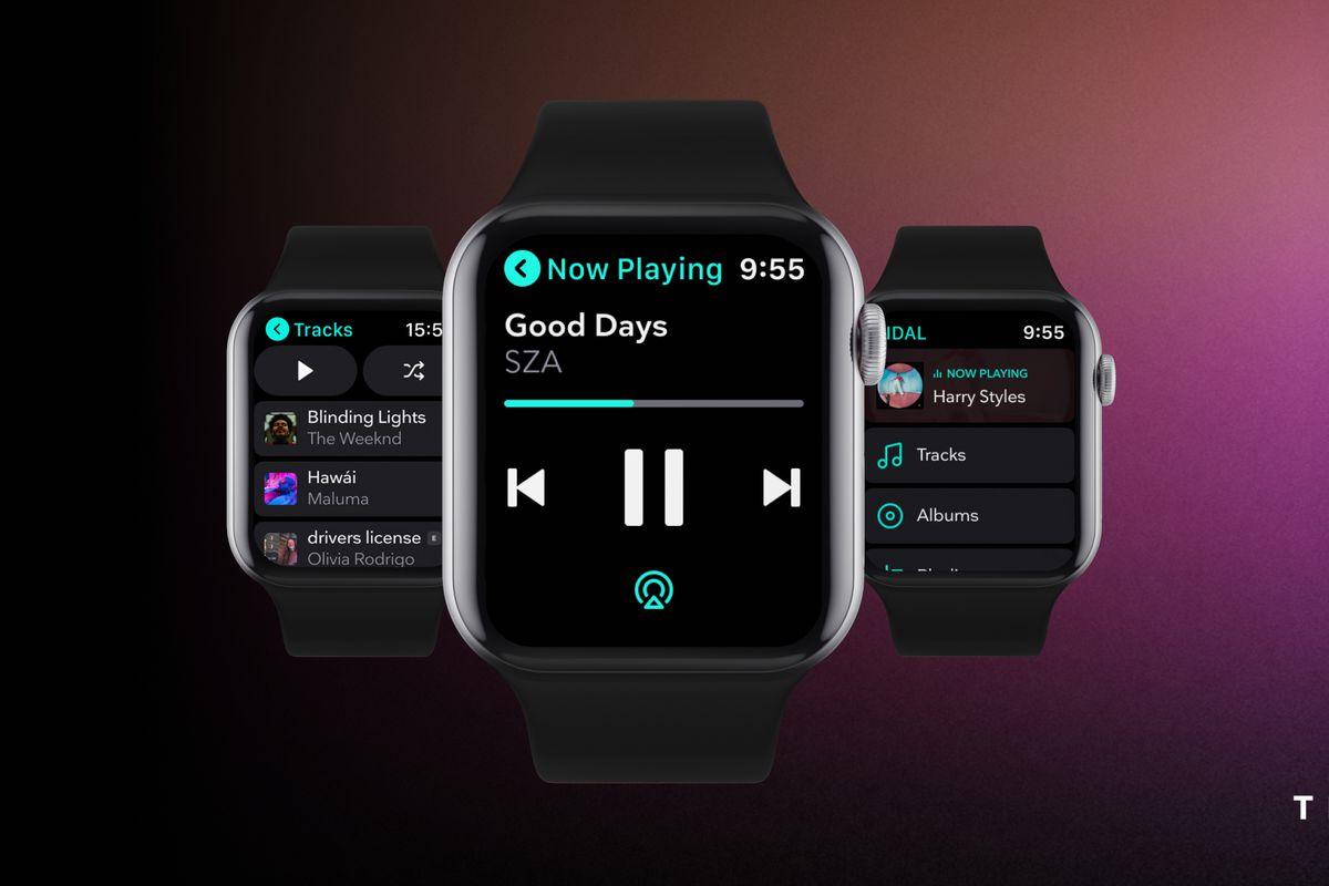 Aplikace Tidal pro Apple Watch bude fungovat i bez nutnosti iPhonu
