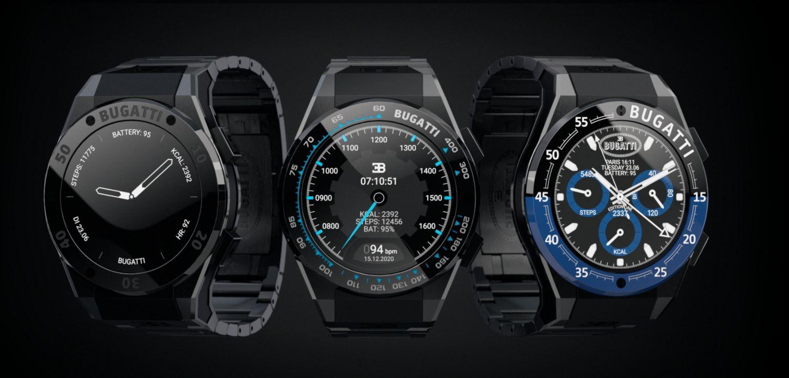 Bugatti představuje chytré hodinky, budou vybaveny špičkovou technologií