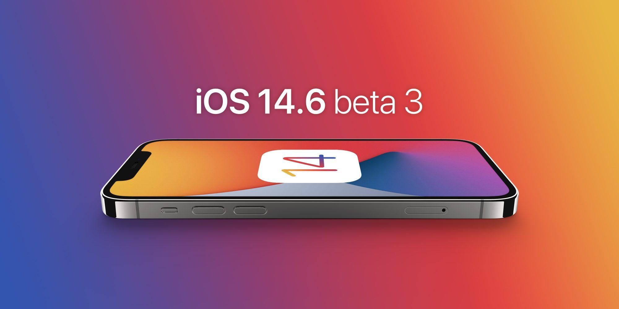 Apple vydal iOS 14.6 a iPad iOS 14.6 beta 3
