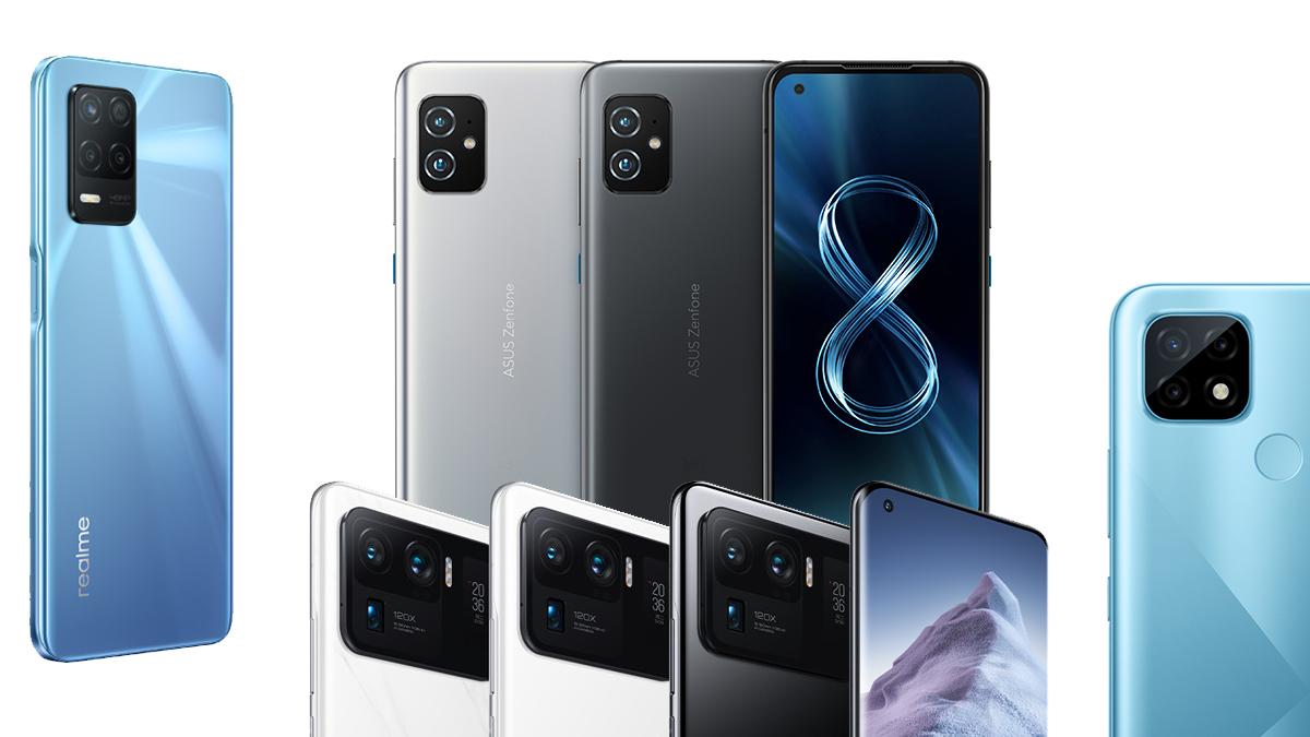 Nově v českých obchodech – Realme 8 5G a C21, ZenFone 8 a Mi 11 Ultra