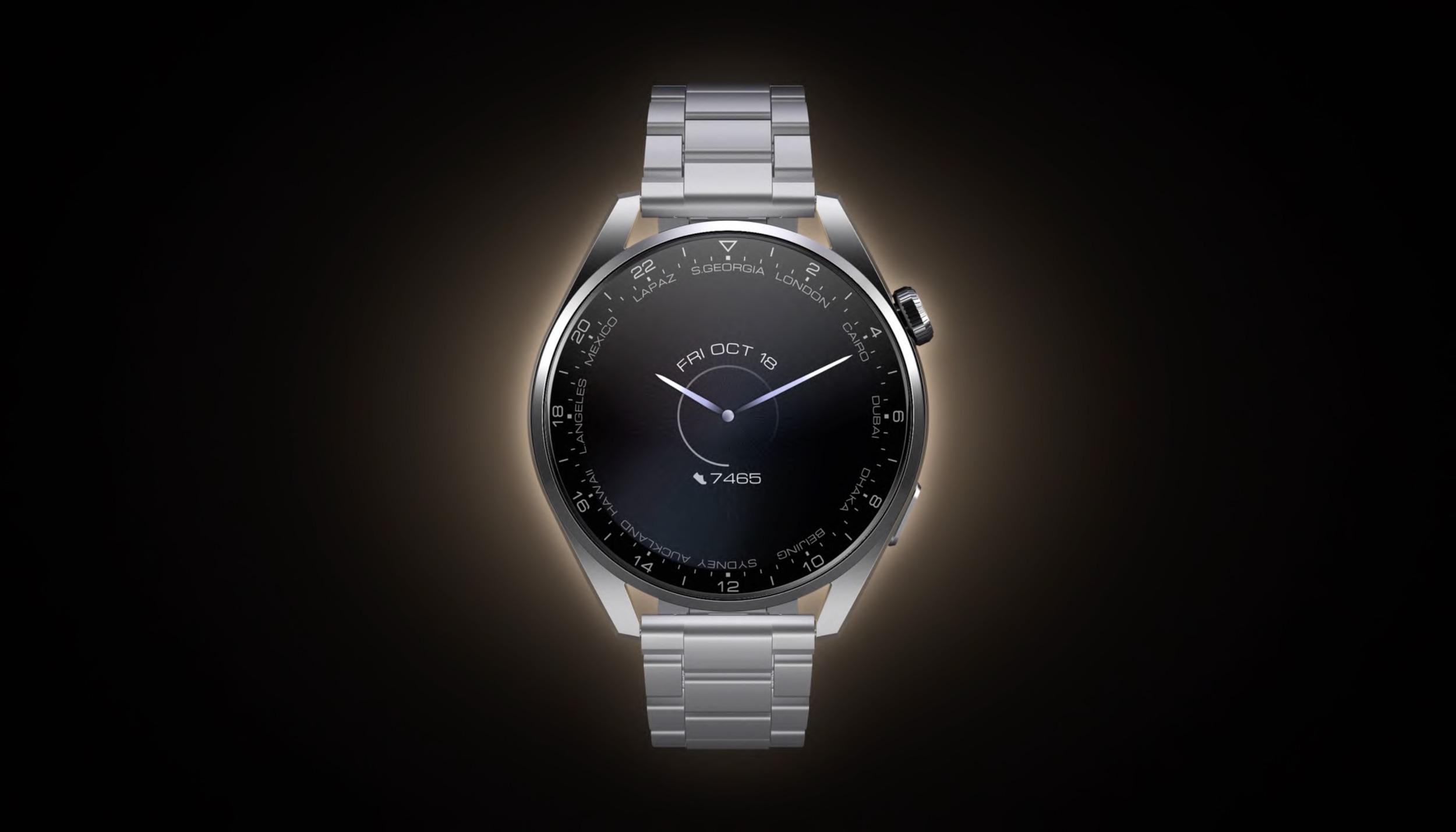 Huawei uvádí dvojici Hodinek Huawei Watch 3 a Watch 3 Pro s HarmonyOS