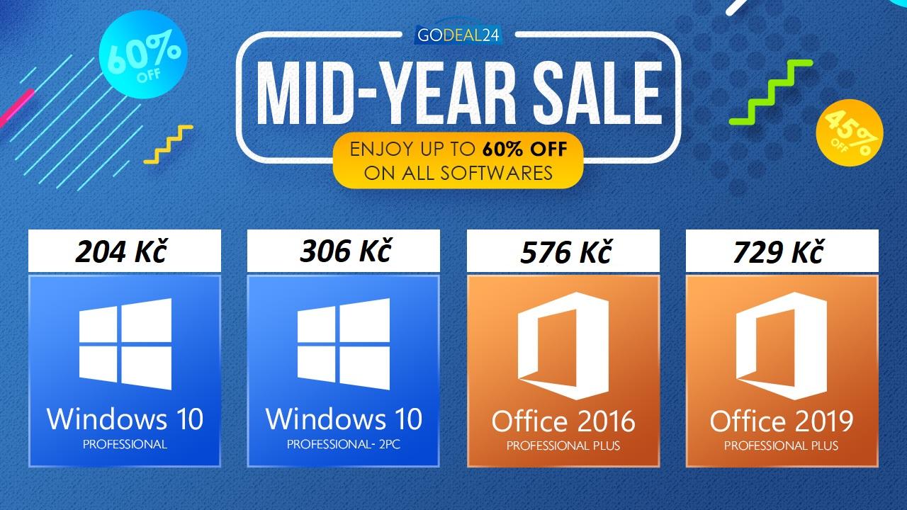 Využijte báječnou prázdninovou nabídku nejen na Windows 10 se slevou až 60 % [sponzorovaný článek]