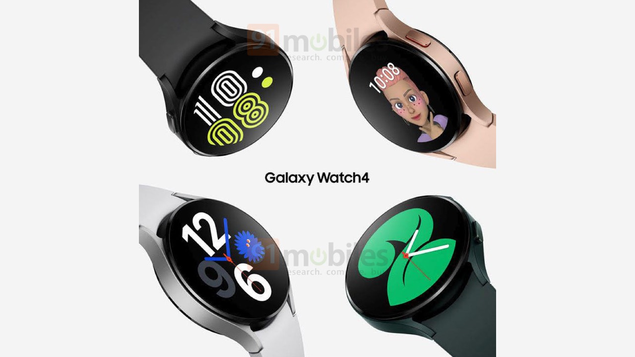 Galaxy Watch 4 na nových renderech