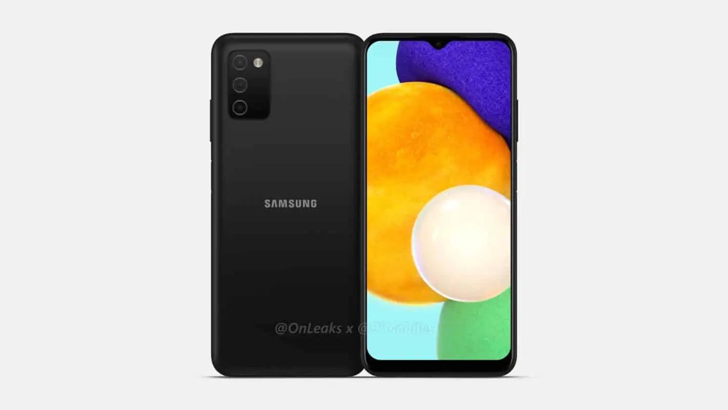 Samsung Galaxy A03s se představuje na prvních fotografiích