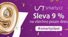 Poslední šance ušetřit 9 % opravdu na všem! Nový mobil nebo počítač nejlevněji ve Smarty.cz. Pouze dnes![sponzorovaný článek]