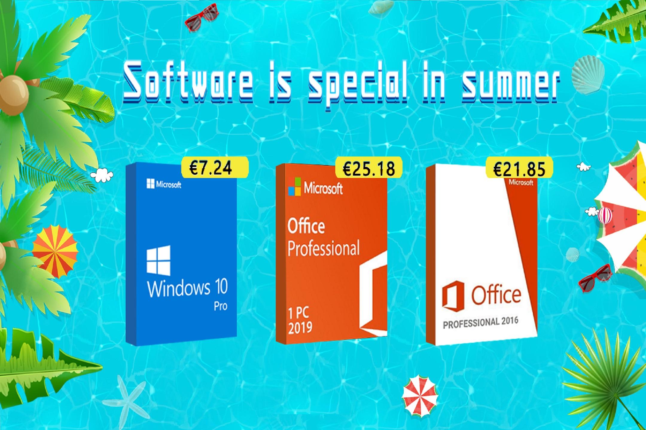 bcdkey přichází s letní akcí na Windows 10 a další [sponzorovaný článek]