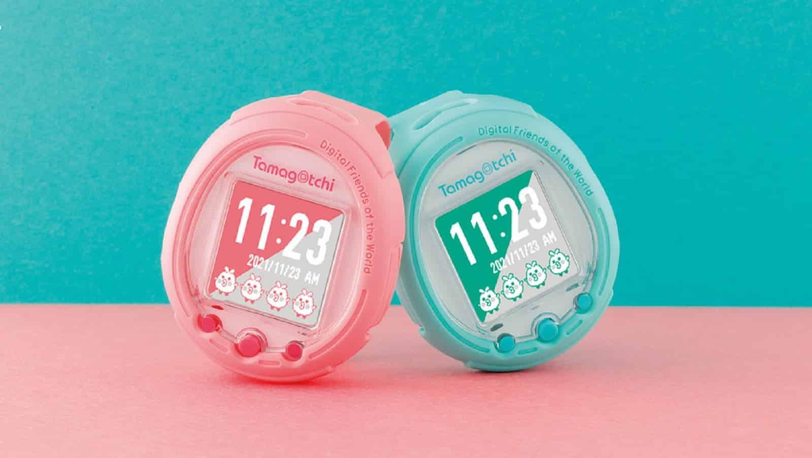 Tamagotchi je zpět, tentokrát v podobě chytrých hodinek
