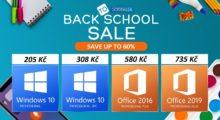 Letní slevy na produkty Microsoft v plném proudu, získejte Windows 10 za skvělou cenu 205 Kč! [sponzorovaný článek]