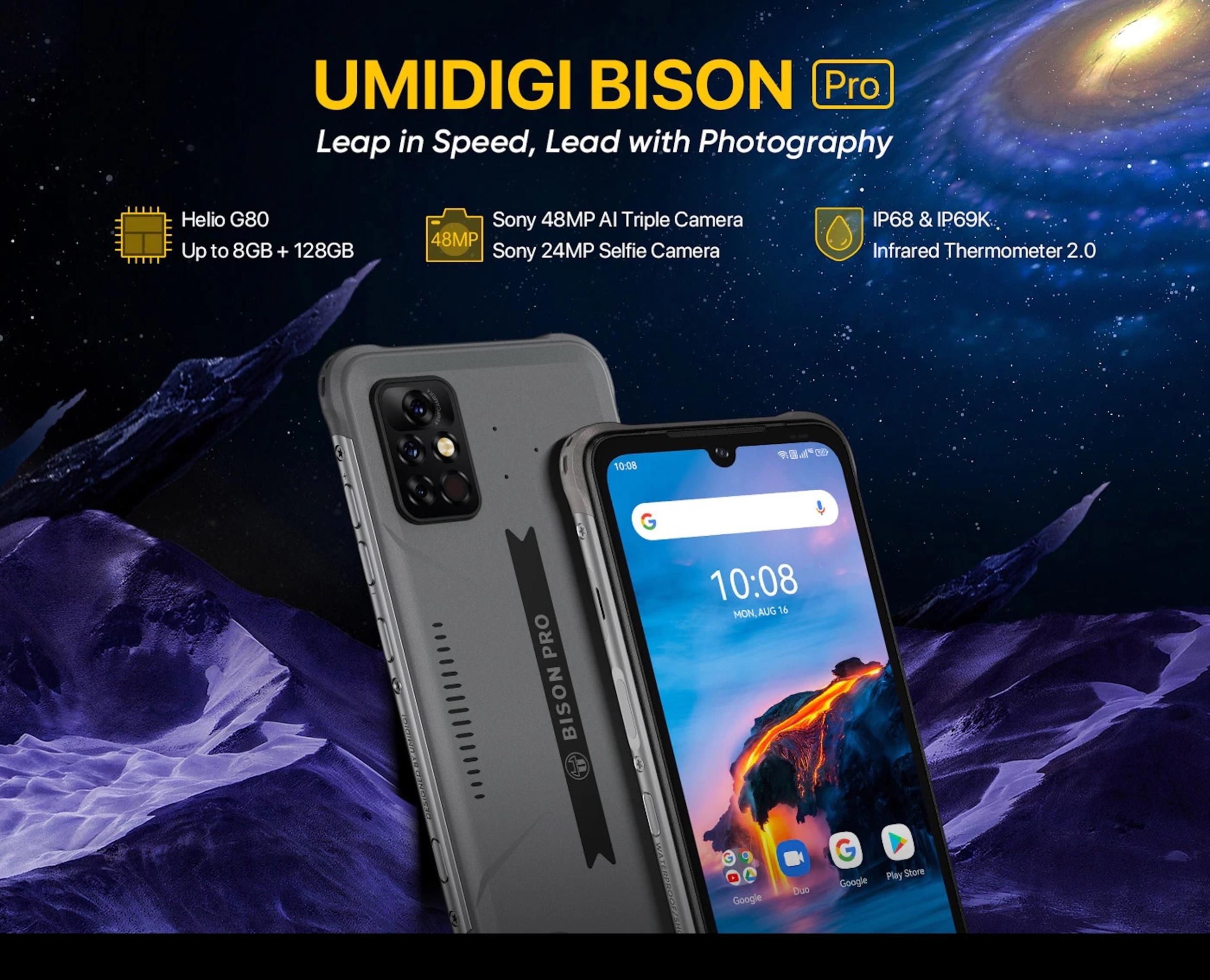 Umidigi Bison přichází ve verzi Pro