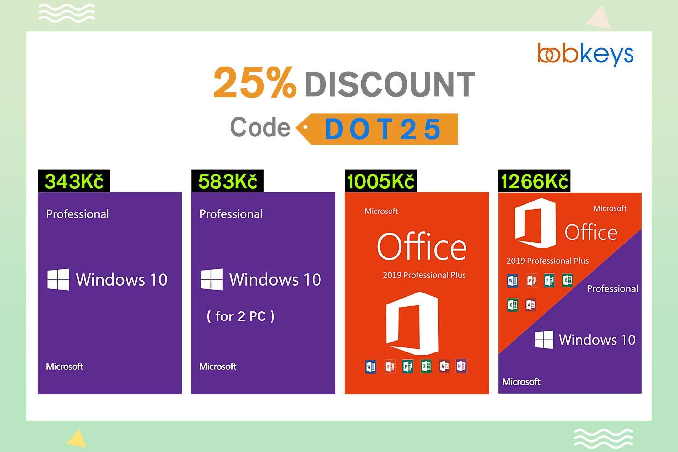 Dodejte svému počítači druhý dech s Windows 10 nebo MS Office 2019 Pro Plus! [sponzorovaný článek]