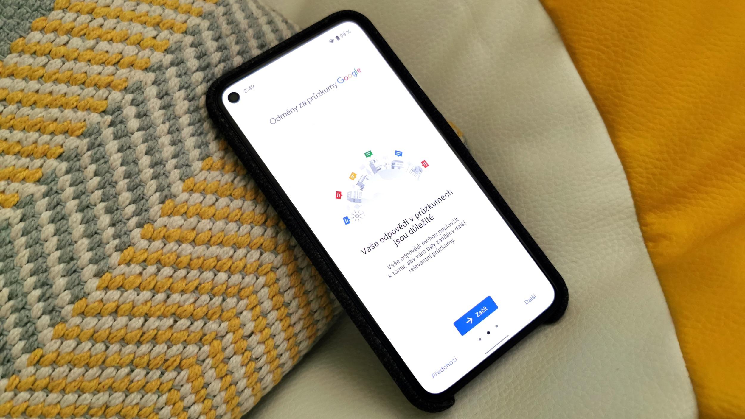 Google Opinion Rewards získává podporu pro Česko