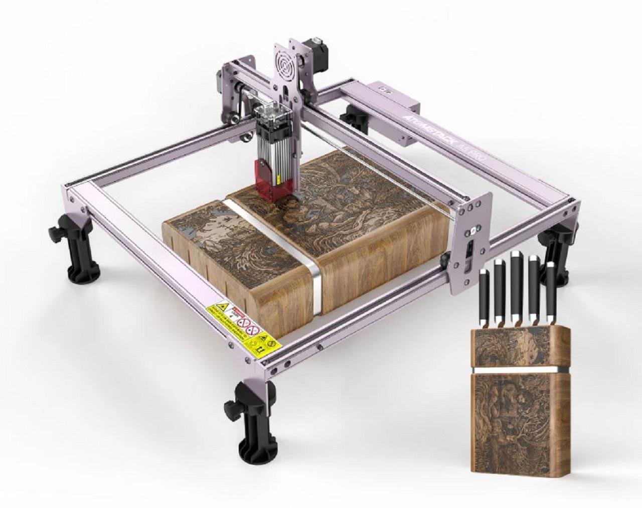 Laserová gravírka a rytec ATOMSTACK A5 PRO se slevou 35 % na Cafago.com [sponzorovaný článek]