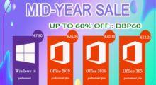 Letní mega slevy na mmohk! Windows 10 nebo Office až s 60% slevou [sponzorovaný článek]