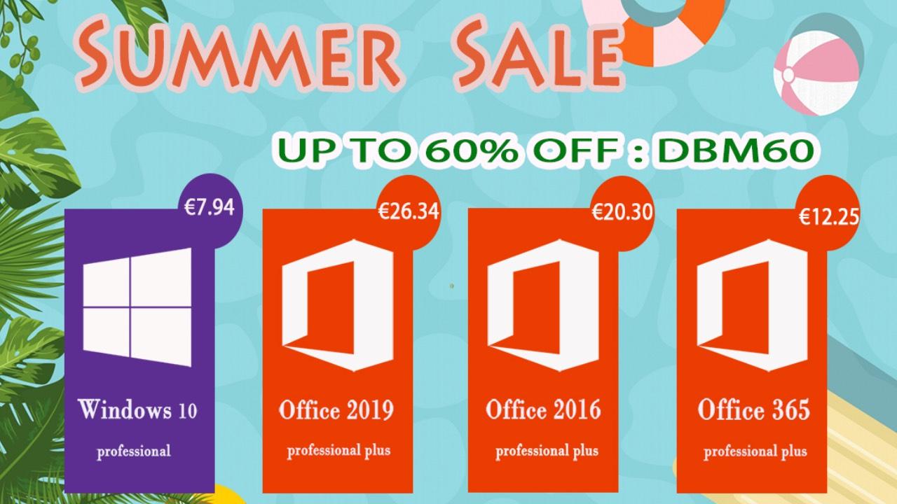 Letní mega slevy na mmohk! Windows 10 se slevou 43 %! [sponzorovaný článek]