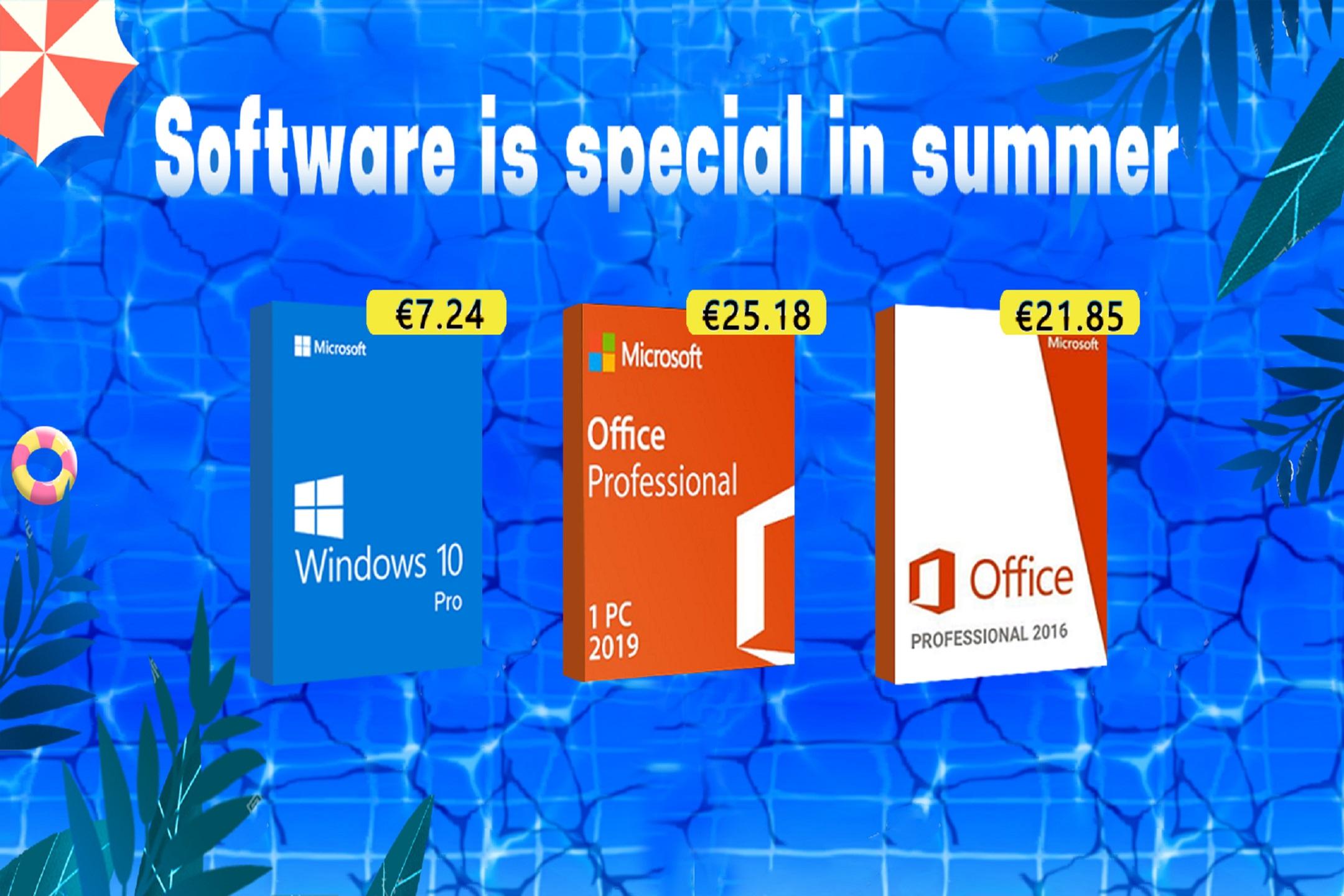 Letní mega slevy na U2KEY! Windows 10 už od 7.24 EUR [sponzorovaný článek]