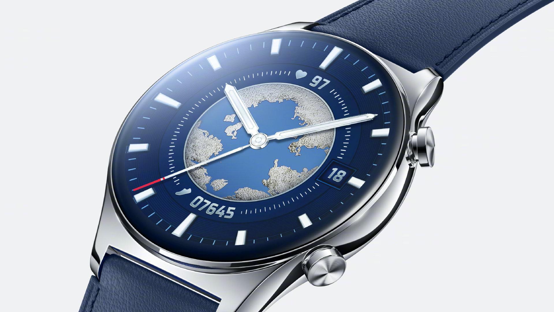 Honor se pochlubil hodinkami Watch GS 3