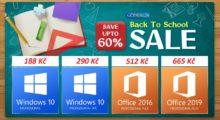 Nepromarněte skvělou nabídku se slevami až 60 %. Například Windows 10 Pro pouze za 187 Kč [sponzorovaný článek]