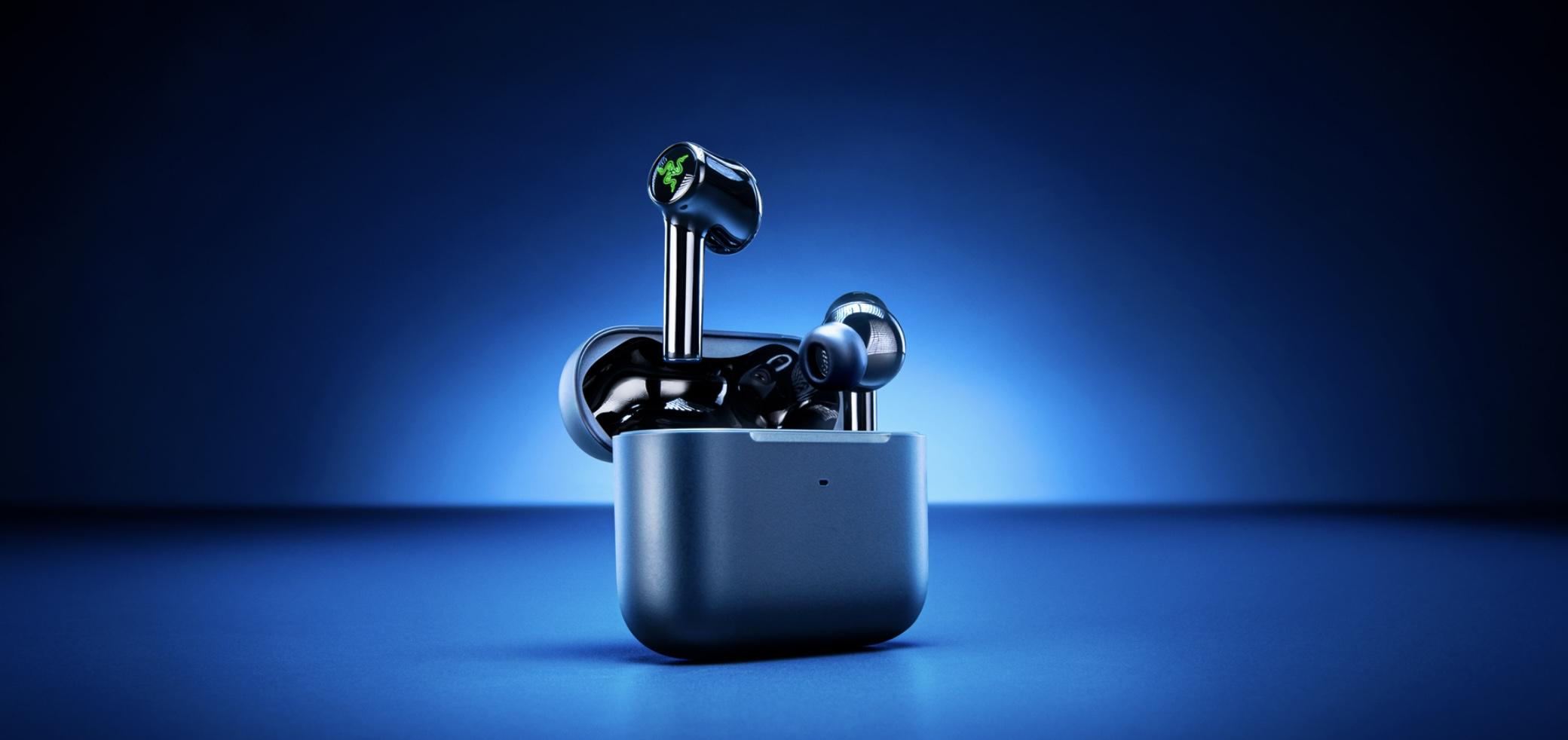 Razer představil nová nabušená bezdrátová sluchátka Hammerhead ANC