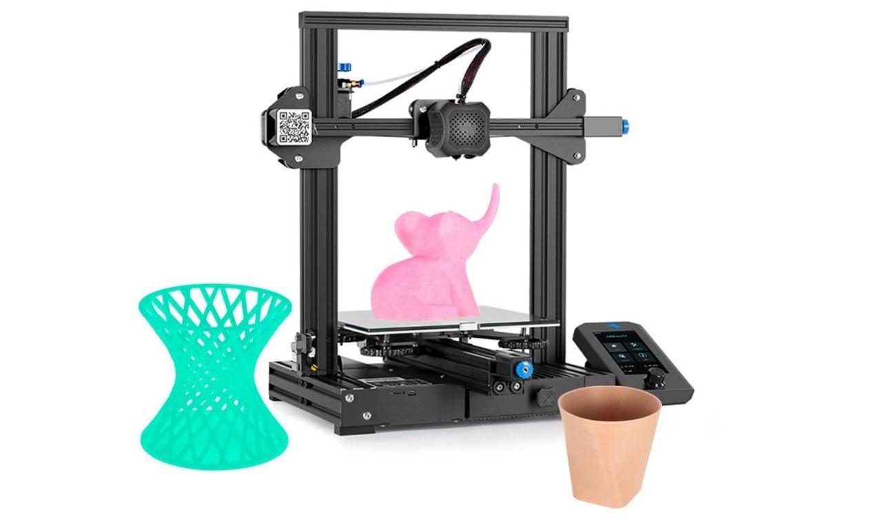 Jedinečná možnost získat 3D tiskárnu Creality Ender-3V2 se slevou 73 % [sponzorovaný článek]