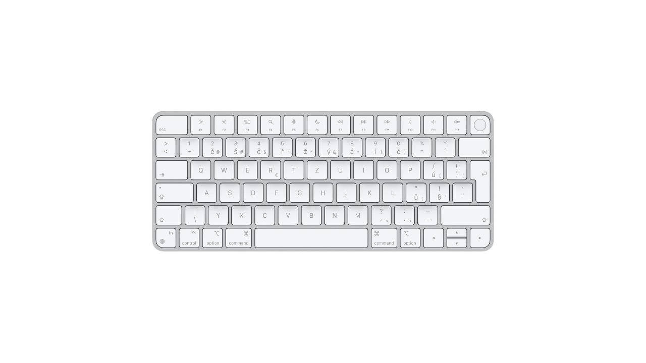 Apple zahájil prodej nové Magic Keyboard s Touch ID