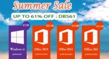 Summer Sale: Windows 10 za 178 Kč, Office 2016 Pro za 484 Kč a další [sponzorovaný článek]