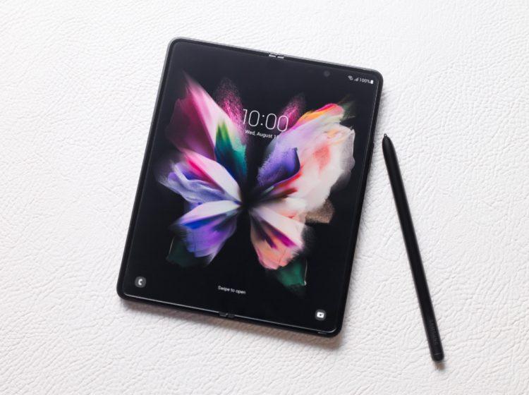 Samsung galaxyzfold3 5g s pen phantomblack 1200x896x