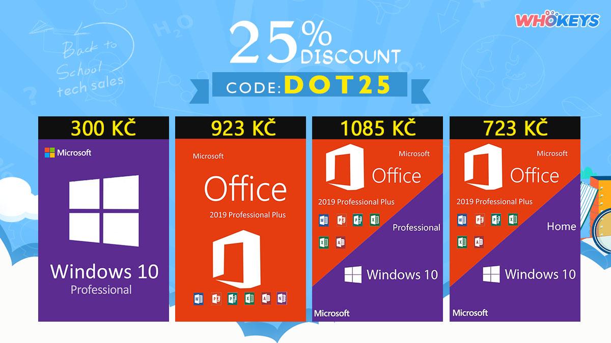 Zpátky do školy například s Windows 10 Pro jen za 300 Kč! [sponzorovaný článek]