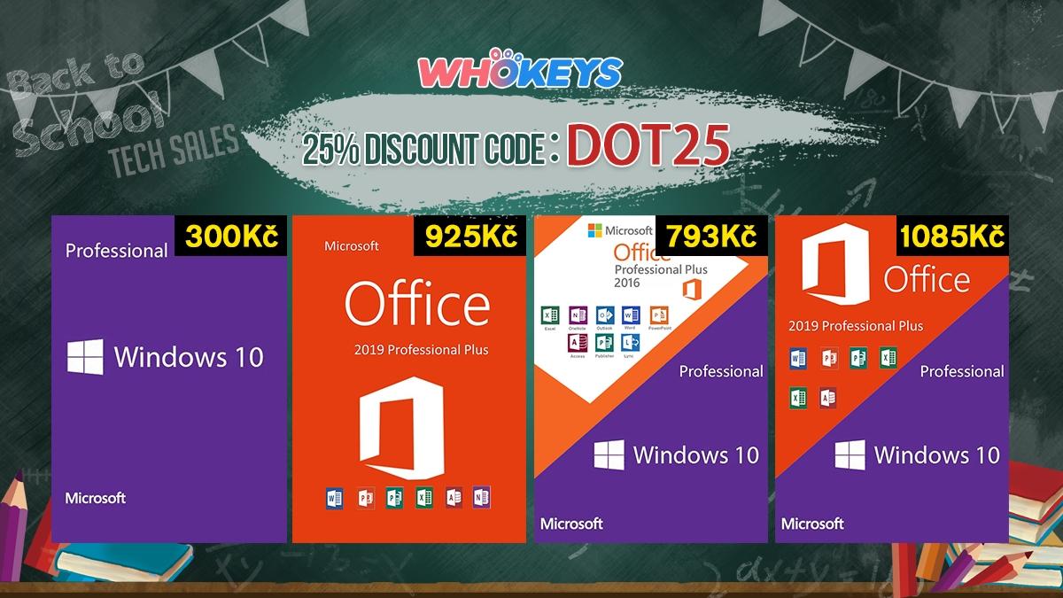 Začněte nový školní rok například s Windows 10 Home jen za 283 Kč! [sponzorovaný článek]