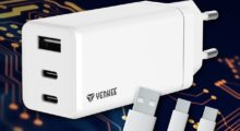 Kompaktní a výkonná nabíječka YENKEE YAC2065 s technologií GaN a výkonem až 65 W