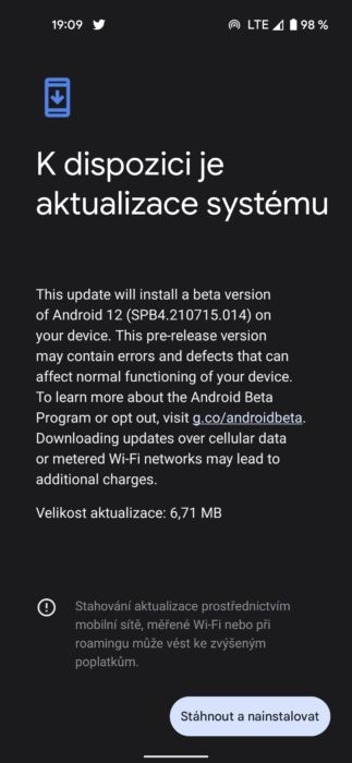 android beta 12 4 1 1080x2340x