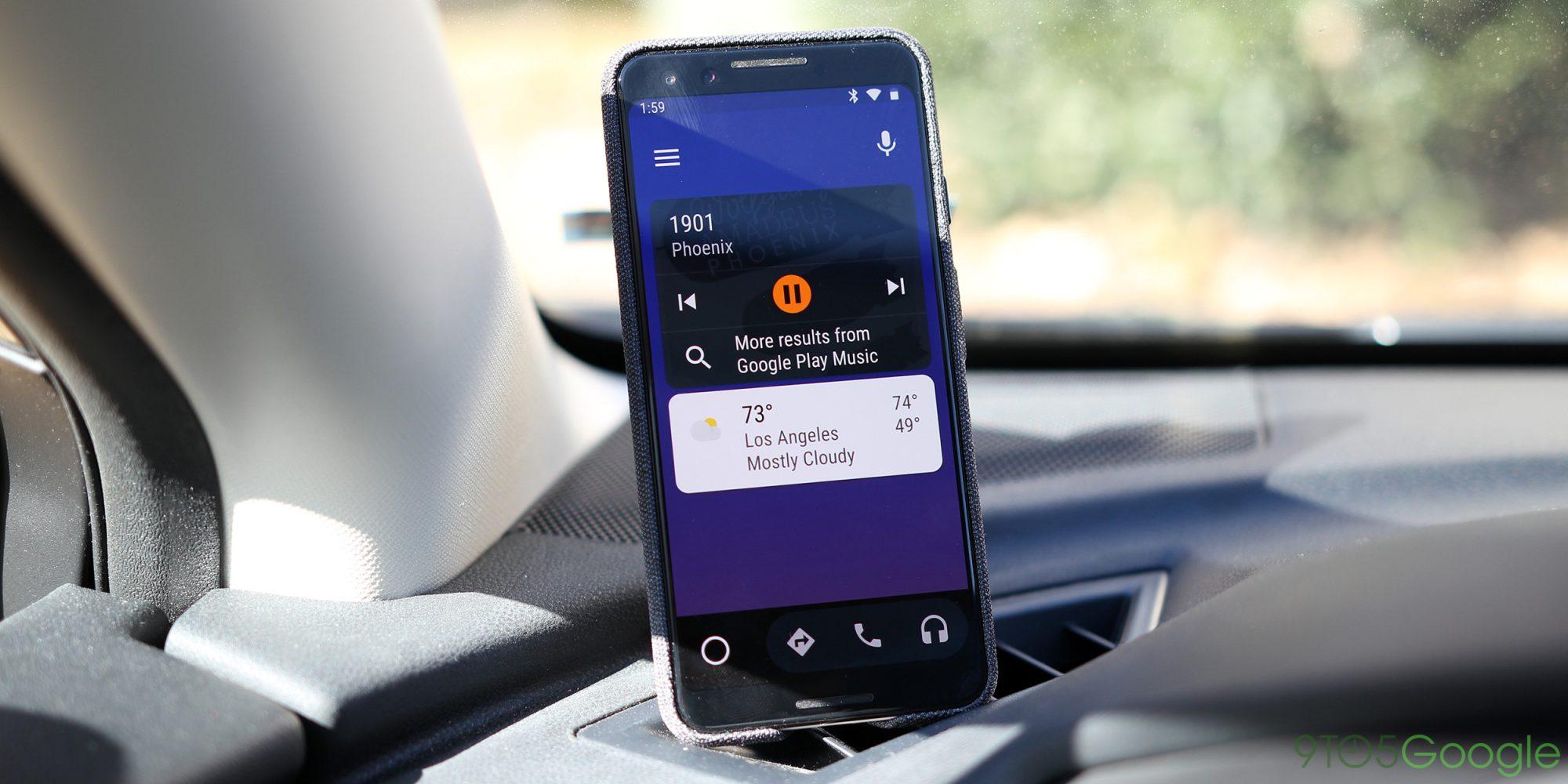Google ruší Android Auto pro obrazovky mobilů