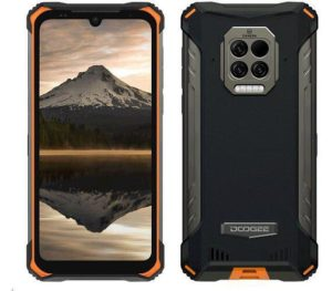mobilni telefon doogee s86 pro 8gb 128gb orange infrared forehead thermometer 570x500x