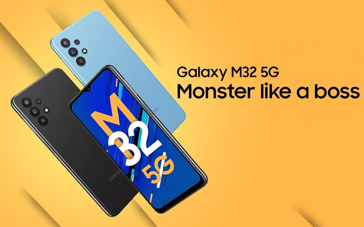 Samsung vylepšil Galaxy M32 o 5G sítě