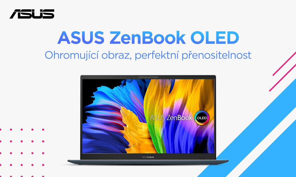 Nastartujte studium nebo práci s novým ASUS ZenBook 13 OLED [sponzorovaný článek]