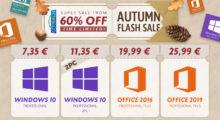 Přivítejte podzim se skvělými cenami produktů Microsoft Windows a Office se slevou až 60 %![sponzorovaný článek]