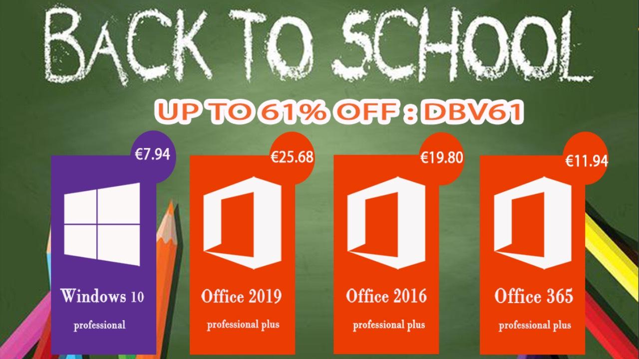 Vraťte se do školy ve velkém stylu s Windows 10 nebo Office 2019! [sponzorovaný článek]