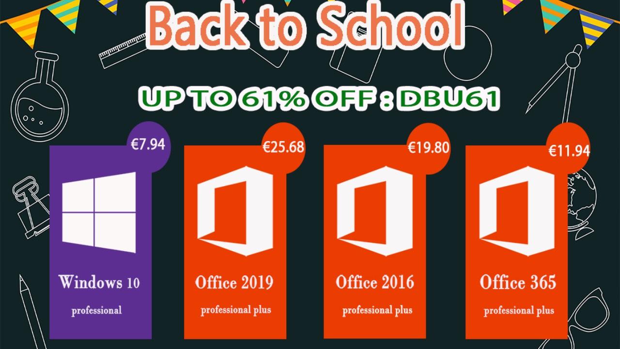 Připravte se na studium s novým Office 365 nebo Windows 10 Pro [sponzorovaný článek]
