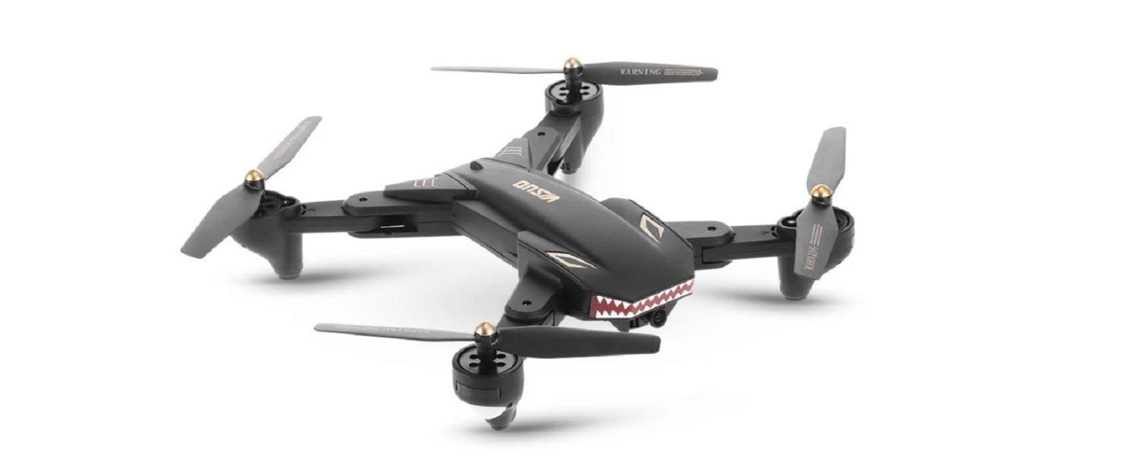 VISUO XS809S je skvělý kompaktní RC dron, který můžete získat se slevou 55 % na Cafago.com [sponzorovaný článek]