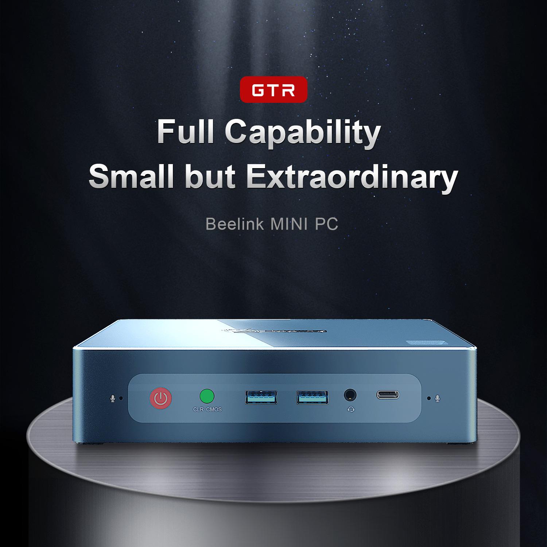 Zvyšte svou produktivitu díky kompaktnímu, ale výkonnému mini počítači Beelink GTR! [sponzorovaný článek]