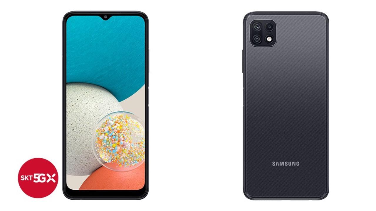 Galaxy Wide5 představen, vychází z modelu Galaxy A22 5G