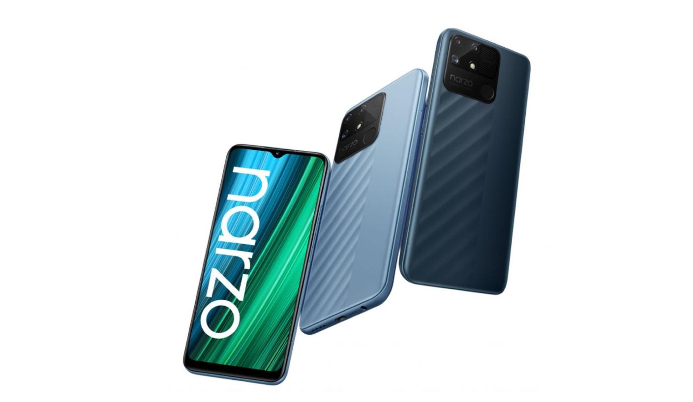 Realme představilo mobily Narzo 50A a Narzo 50i