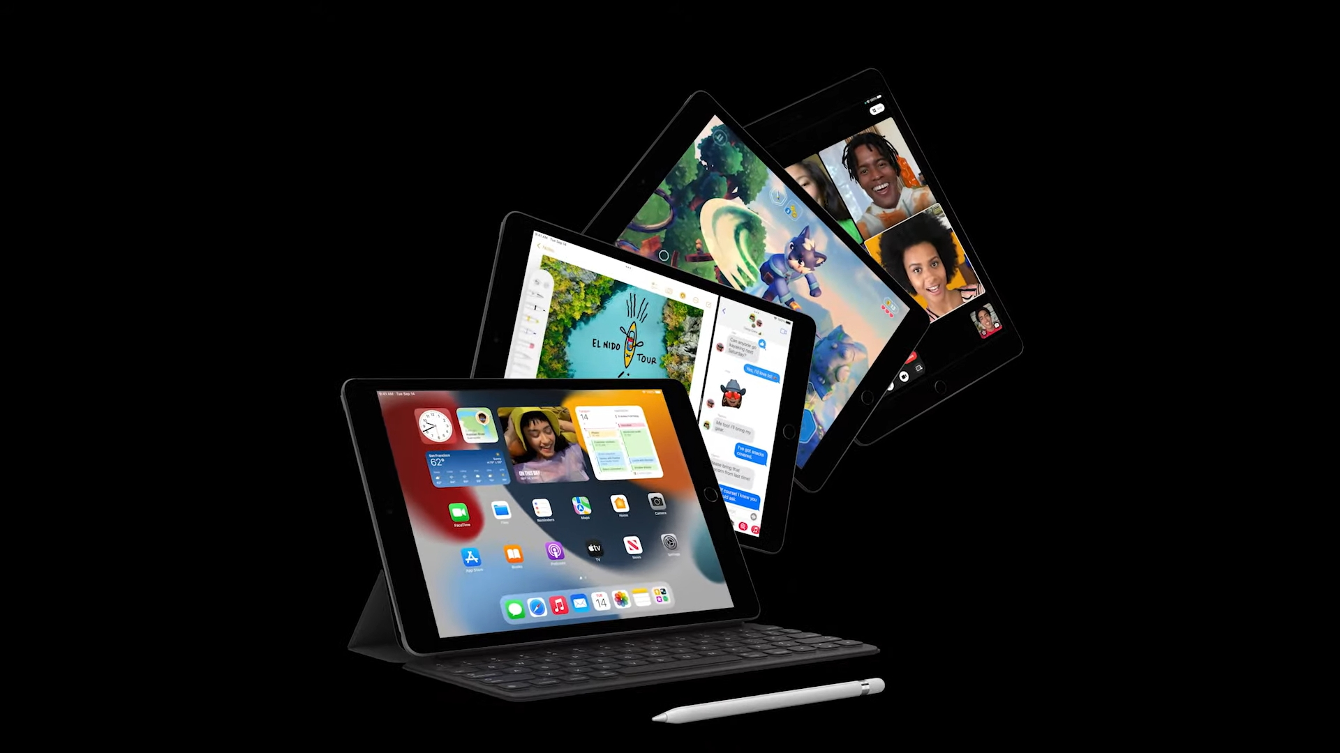 Nový základní iPad přináší rychlejší procesor a lepší přední fotoaparát