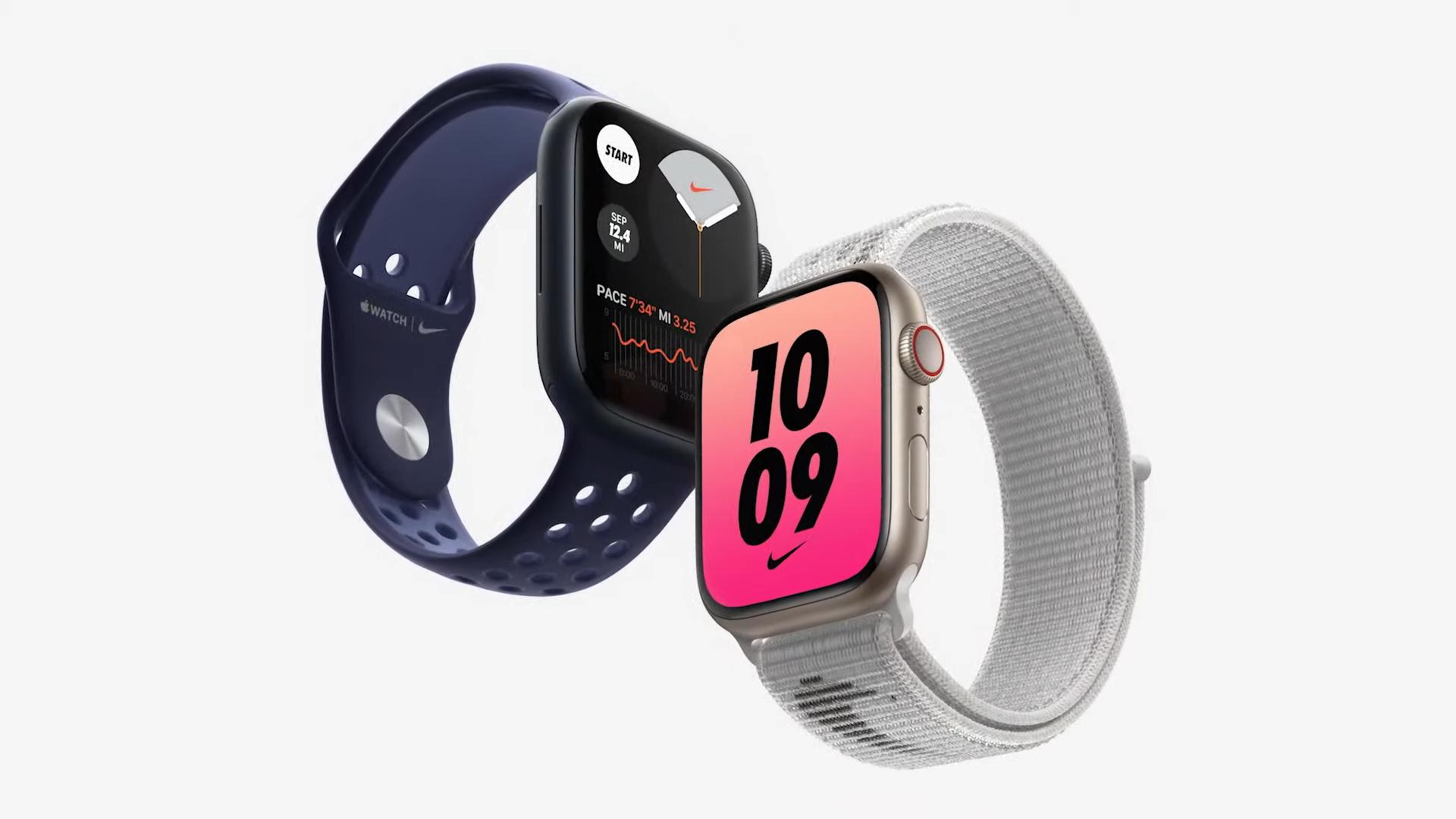 Apple Watch Series 7 s větším displejem představeny