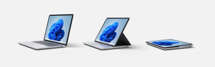 Surface Laptop Studio Modes under embargo until September 22 2560x800x