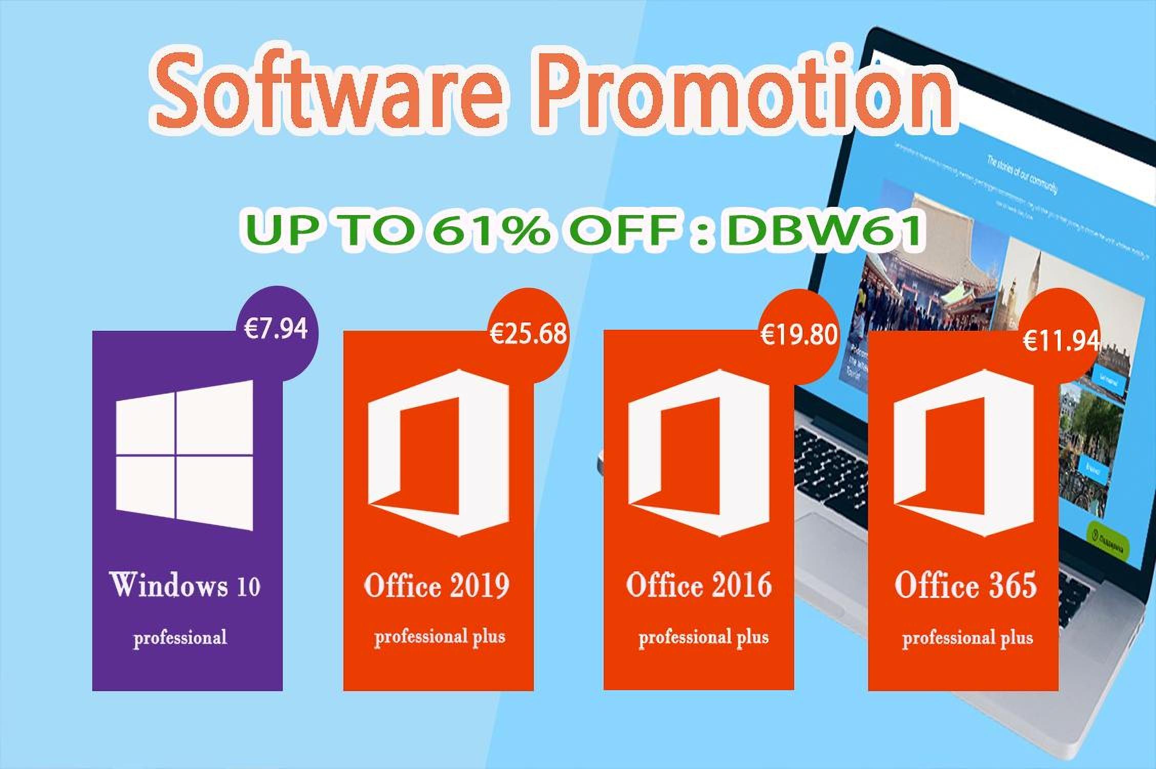 Pořiďte si Windows 10 Pro nebo MS Office 2016 Pro za bezkonkurenční ceny! [sponzorovaný článek]