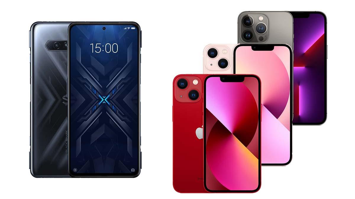 Nově v českých obchodech – nové iPhony a Black Shark 4