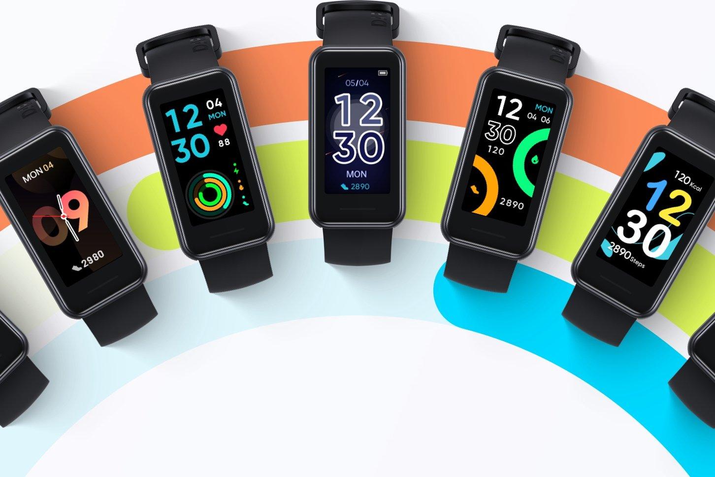 Realme Band 2 připomíná více hodinky než náramek