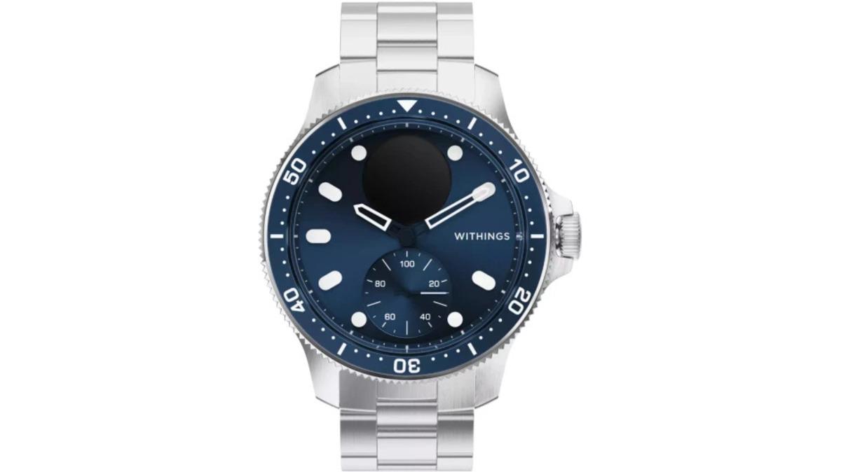 ScanWatch Horizon jsou nové luxusní hybridní chytré hodinky pro potápěče od Withings